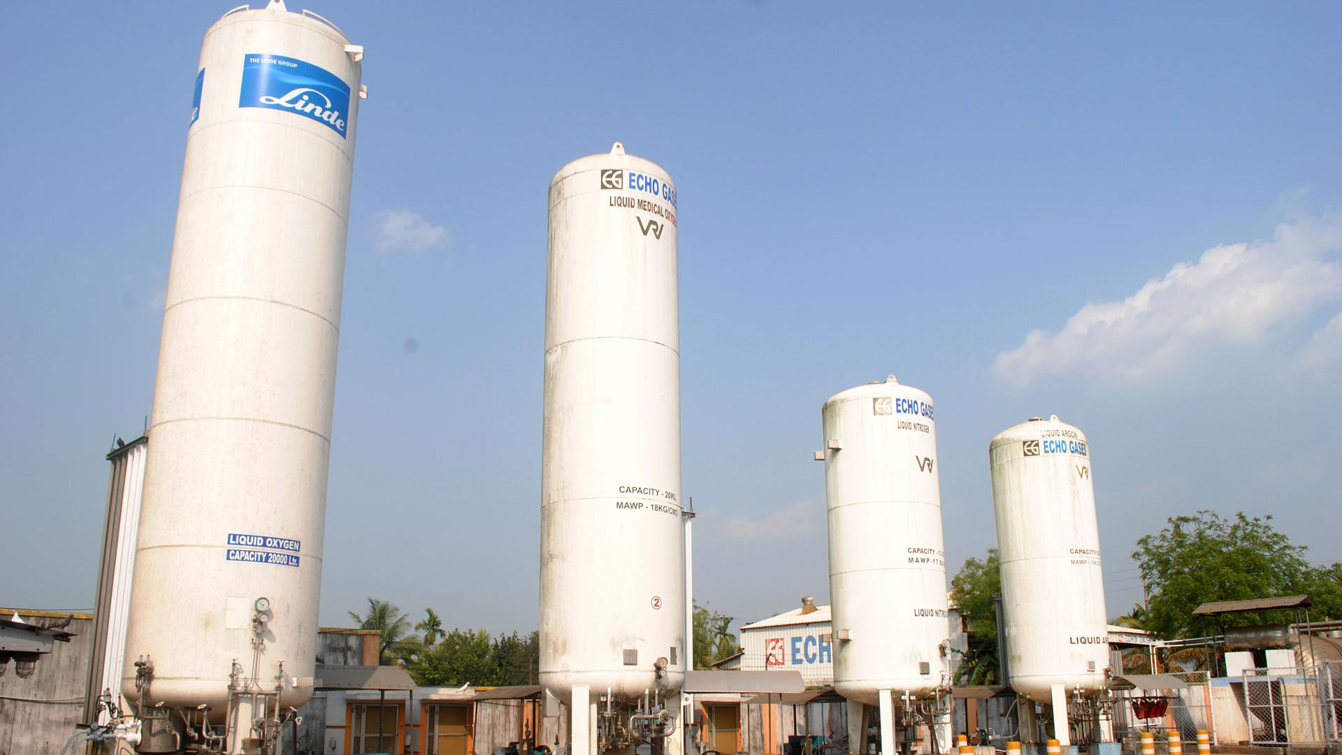 Echo Gases Pvt  Ltd  - Gas Manufacturer In Kolkata, Industrial Gas